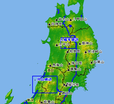 top map 東北 北海道 東北 関東
