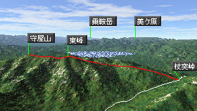守屋山-長野県の山